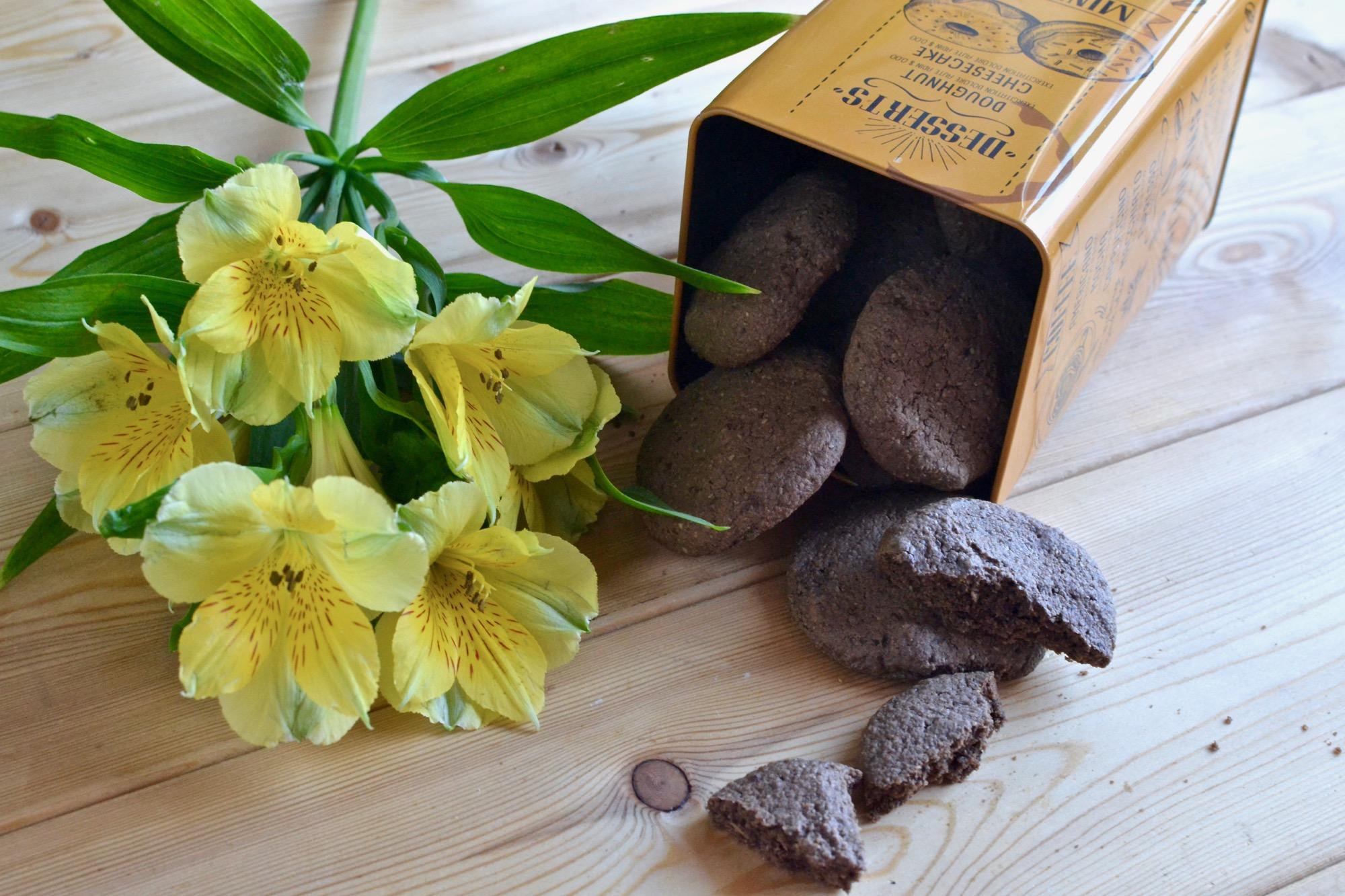 Овсяное печенье «Шоколад и мята»