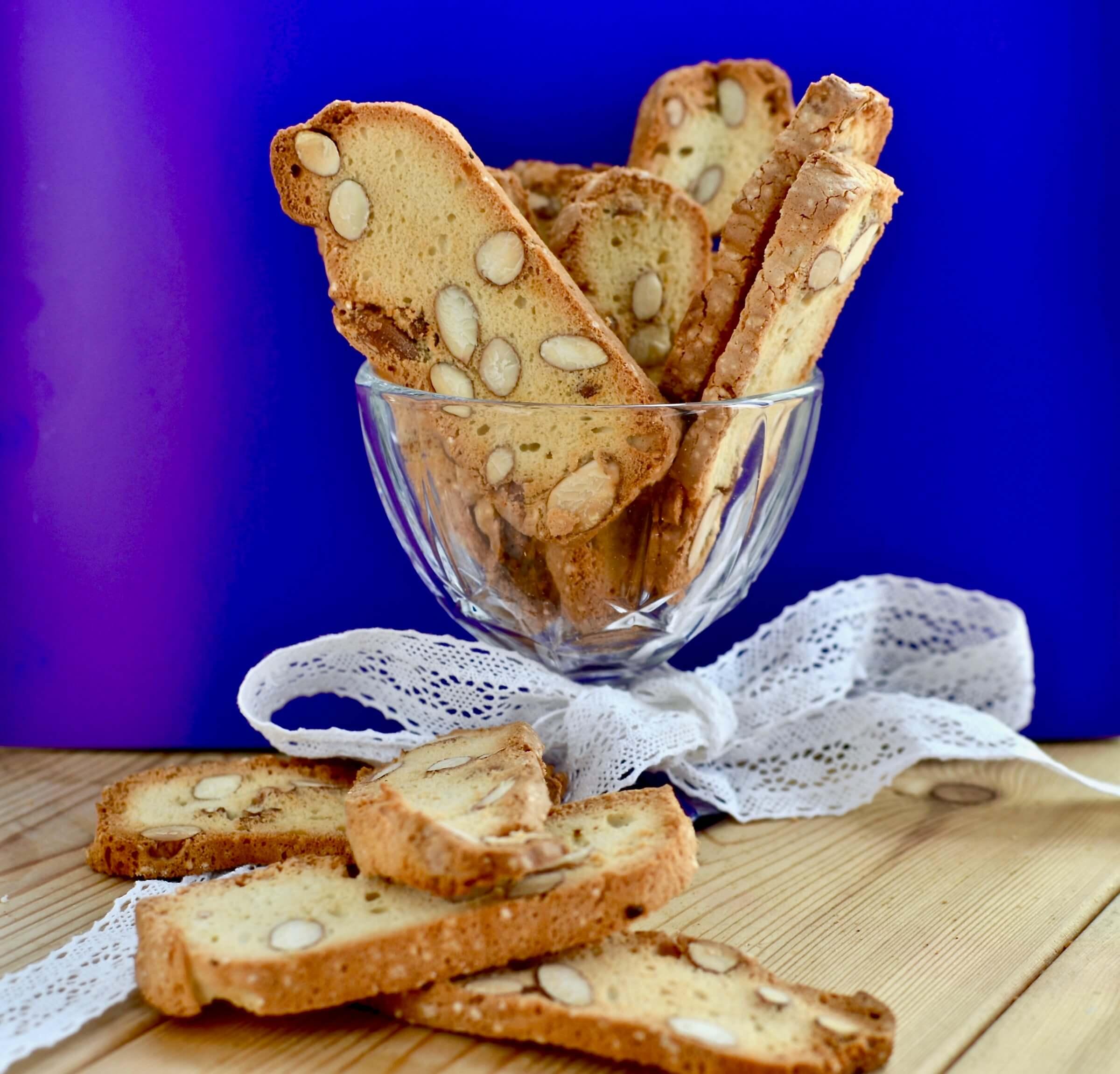 Бисквитно-миндальное печенье