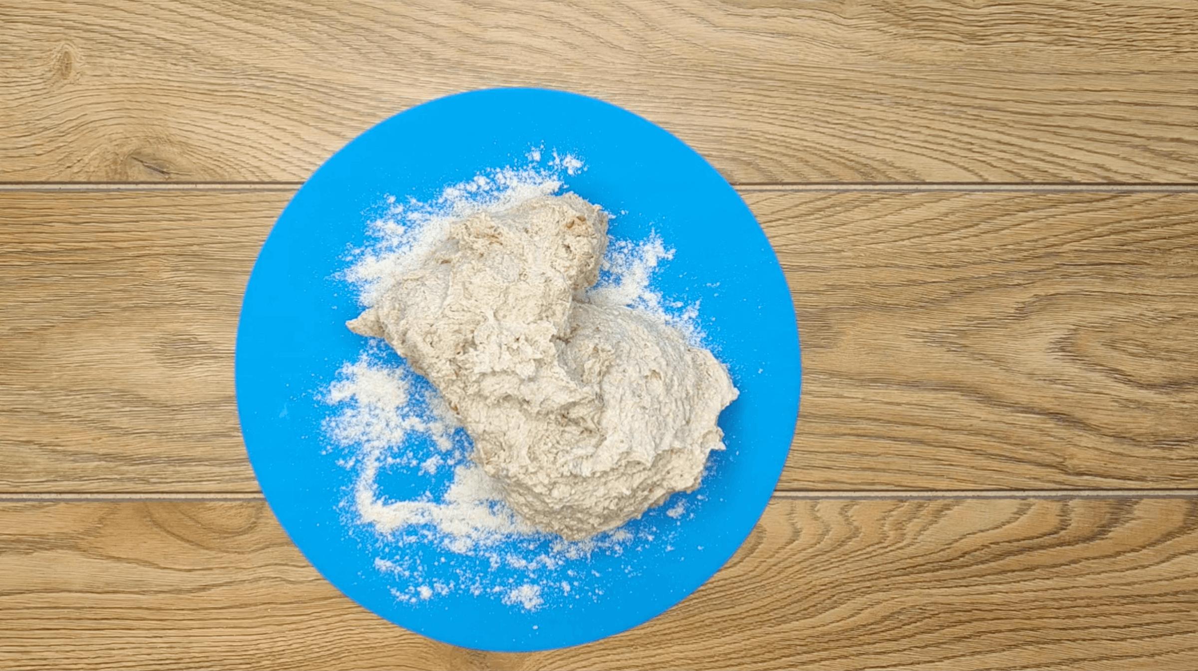 ПП хлеб из цельнозерновой муки без дрожжей