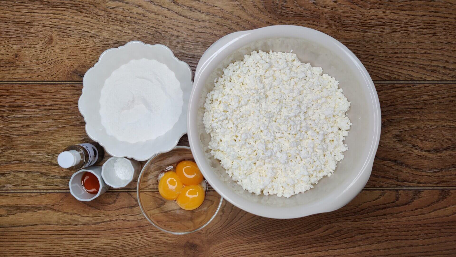 ПП сырники на рисовой муке без сахара